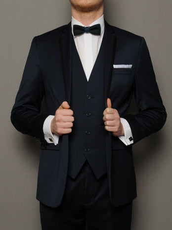 Navy Nuno Formal Suit