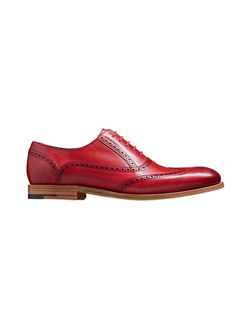 Barker shoes valiant red