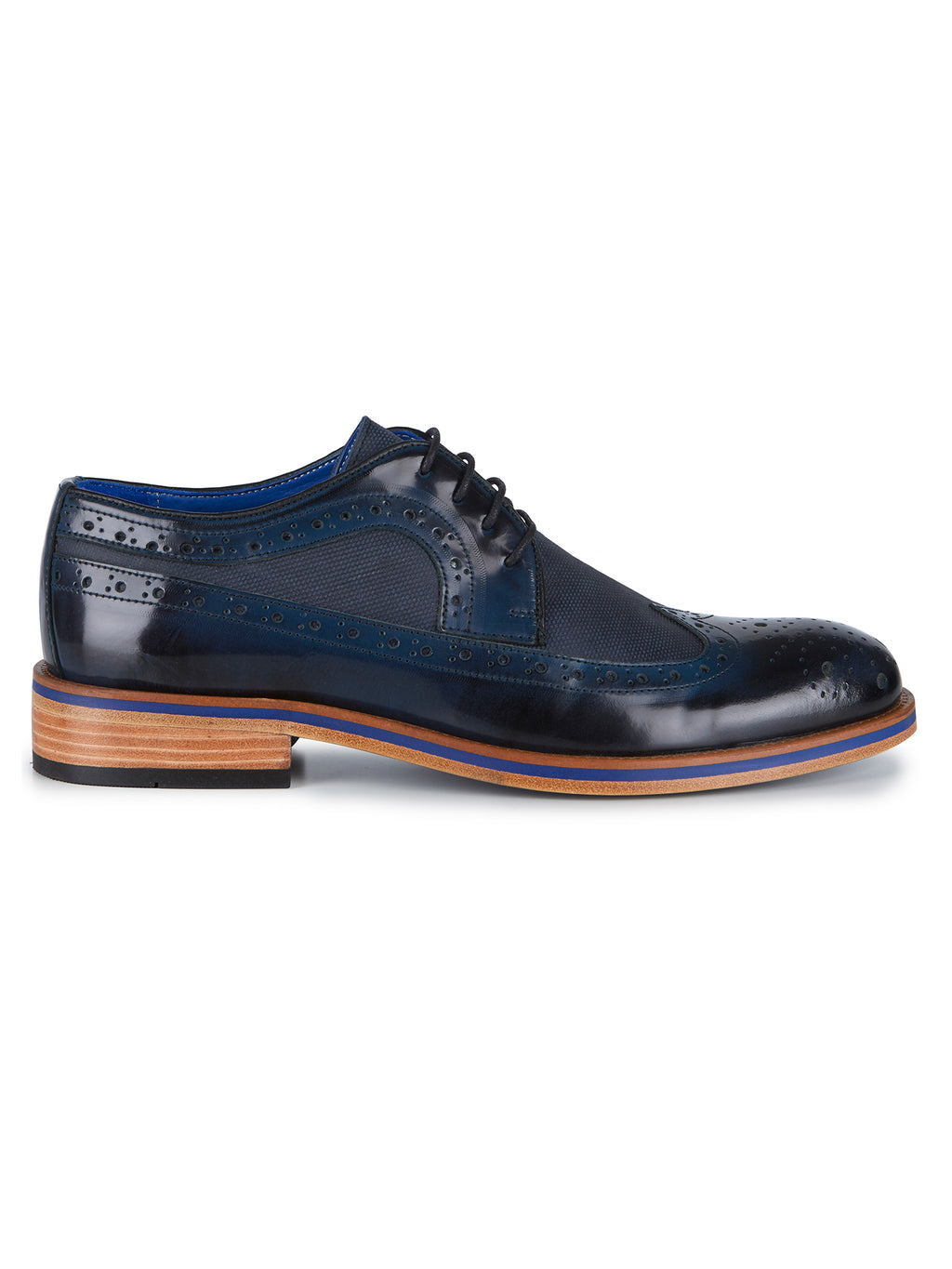 Navy Martino Shoe