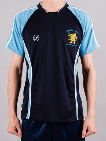 Boys Bangor Academy Short Sleeve Football Top
