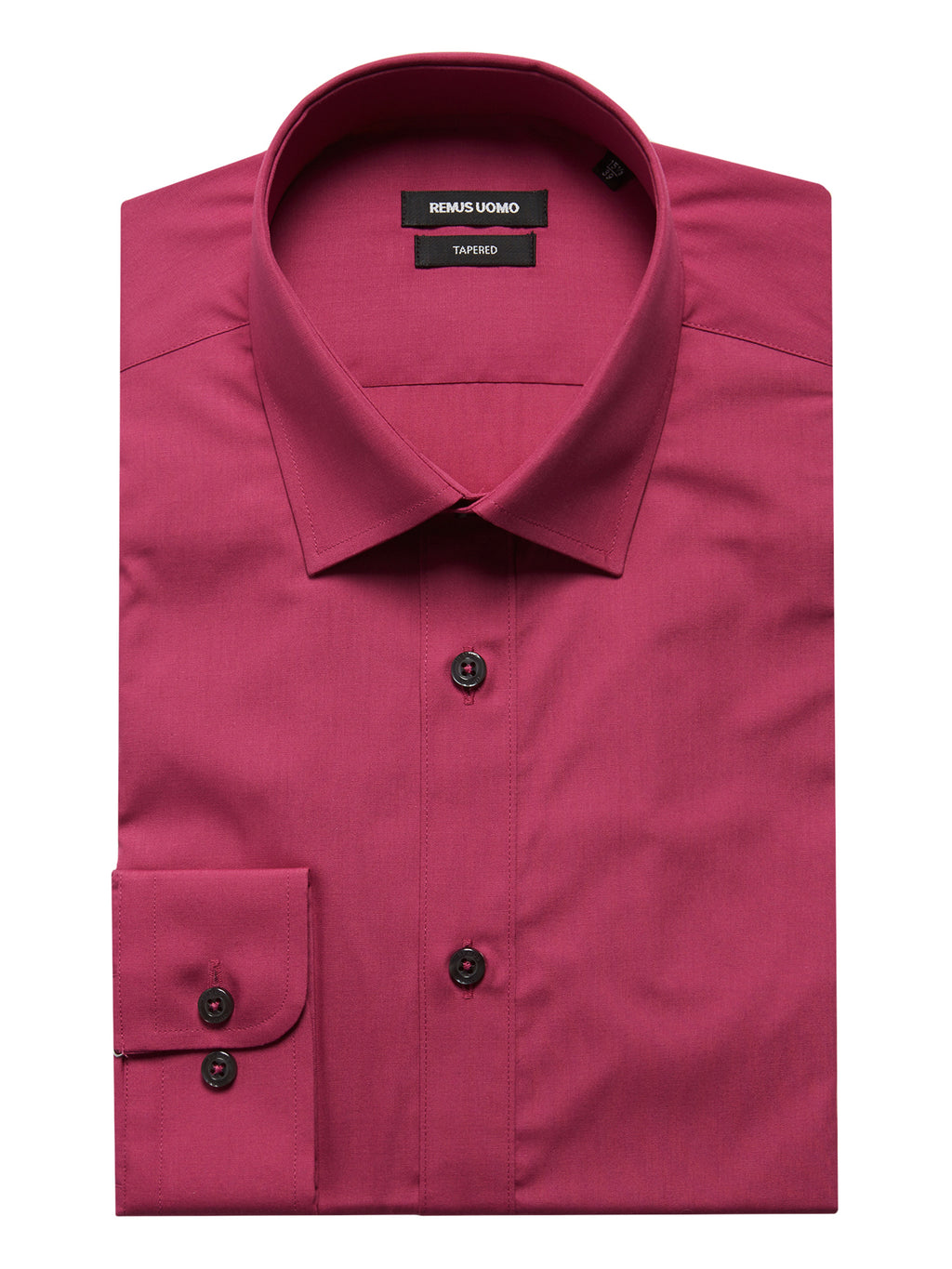 Tapered Fit Cerise Shirt