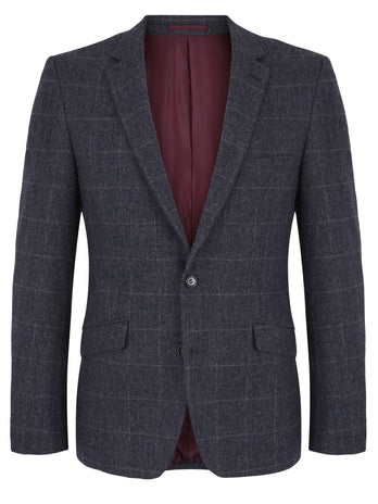 Grey Check Dale Blazer
