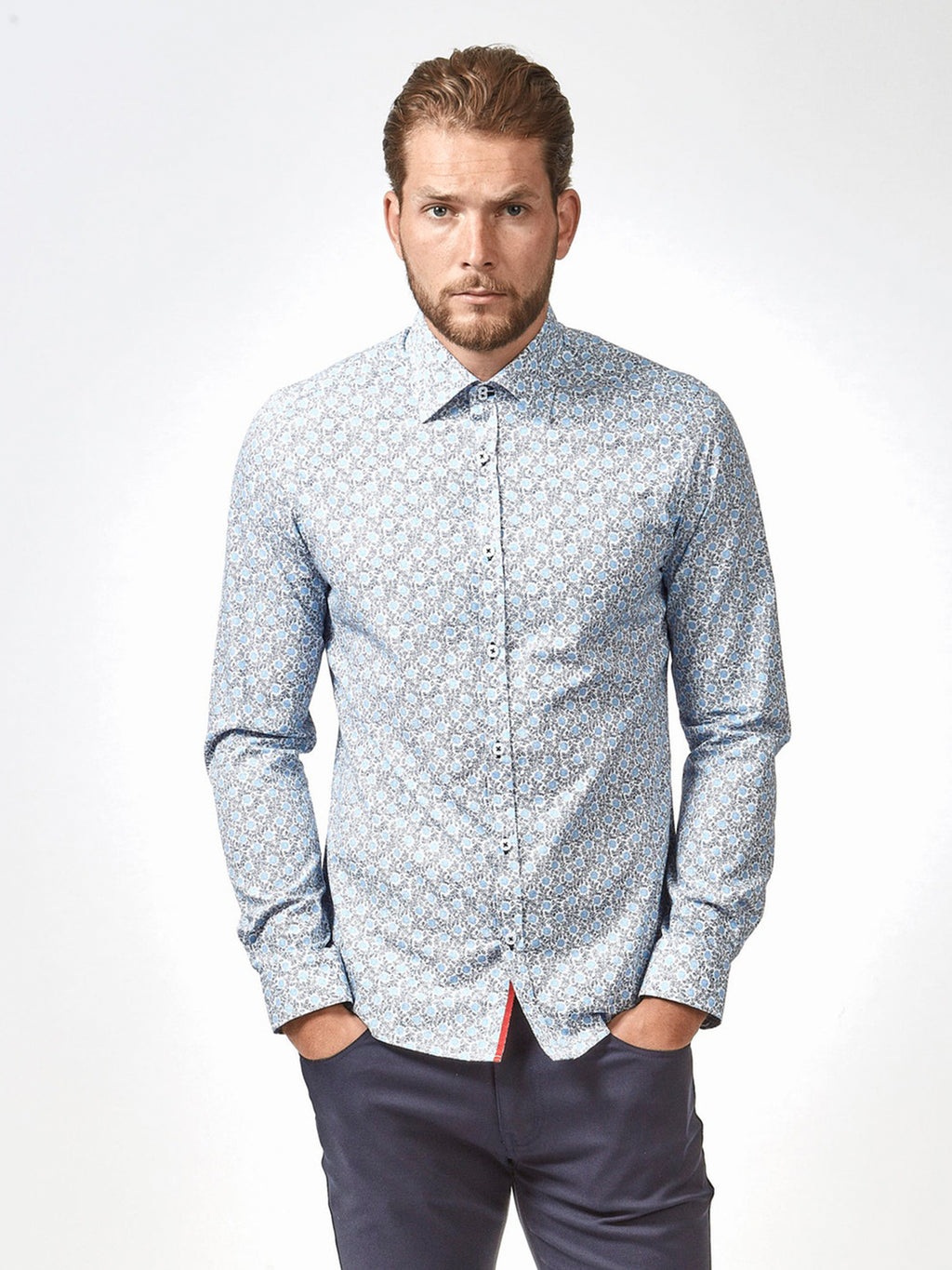 Blue Leyton Shirt