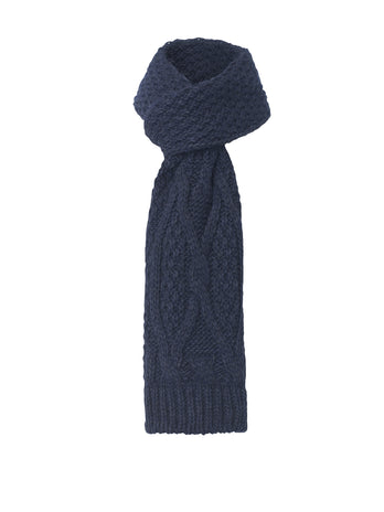 Dark Blue Scarf