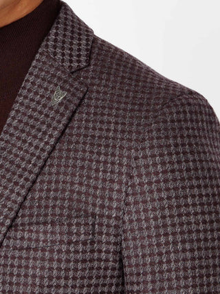 Dark Red Novo Blazer