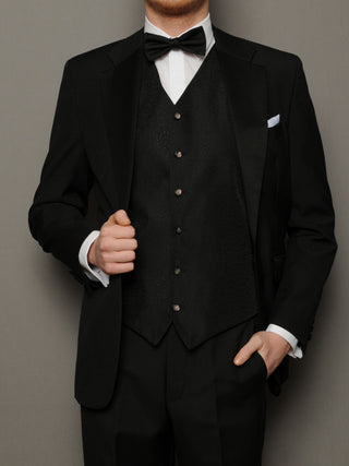 Black Tuxedo Formal Suit