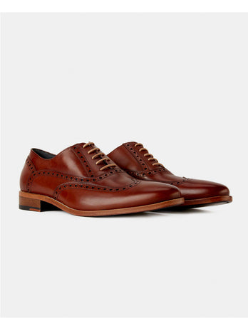 Dark Brown Laurito Shoe