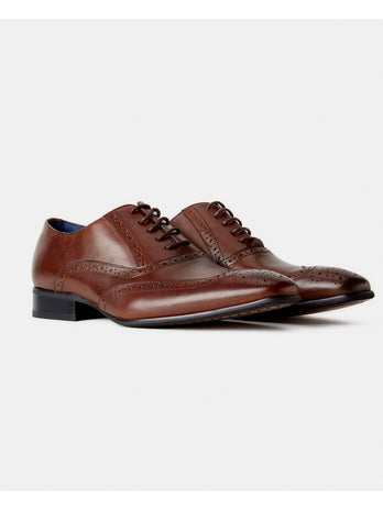 Dark Brown Franco Shoe