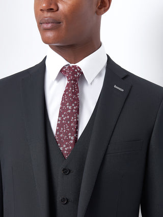 Tapered Black Suit