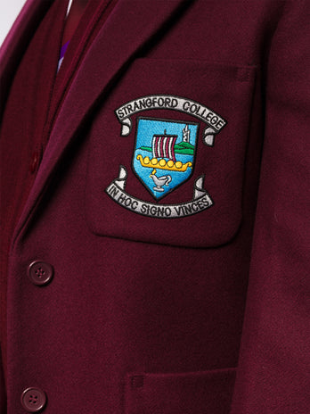strangford college girls blazer