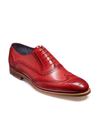 barker valiant red shoes