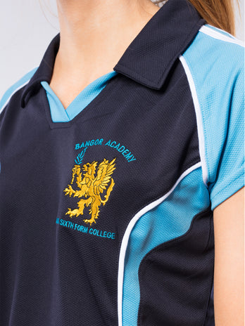 Bangor Academy Girls PE Top