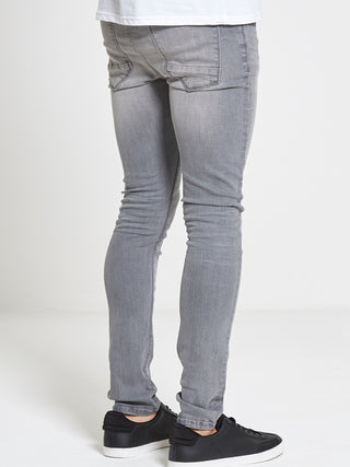 Light Grey Chaos Jeans