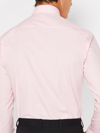 Tapered Fit Baby Pink Shirt