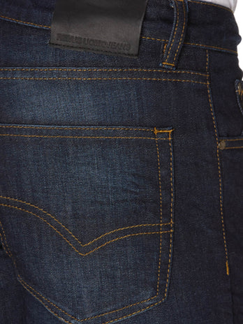 An indigo stretch denim jean from Remus Uomo 60032/29