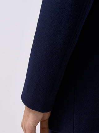 Navy Lohmann Tailored Coat