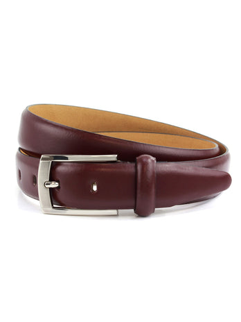 Oxblood Dress Belt