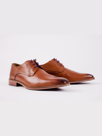 Derby Tan Shoe