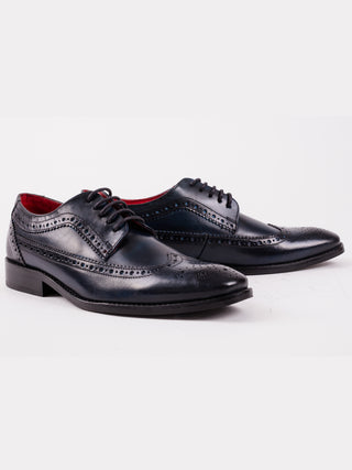 Durham Washed Navy Shoe
