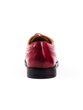 Milton Waxy Bordo Shoe