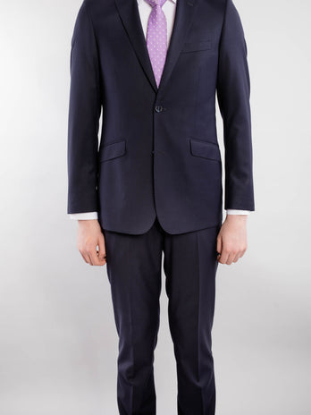 Classic Cut Navy 2-Piece Suit
