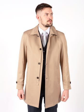 beige overcoat mens