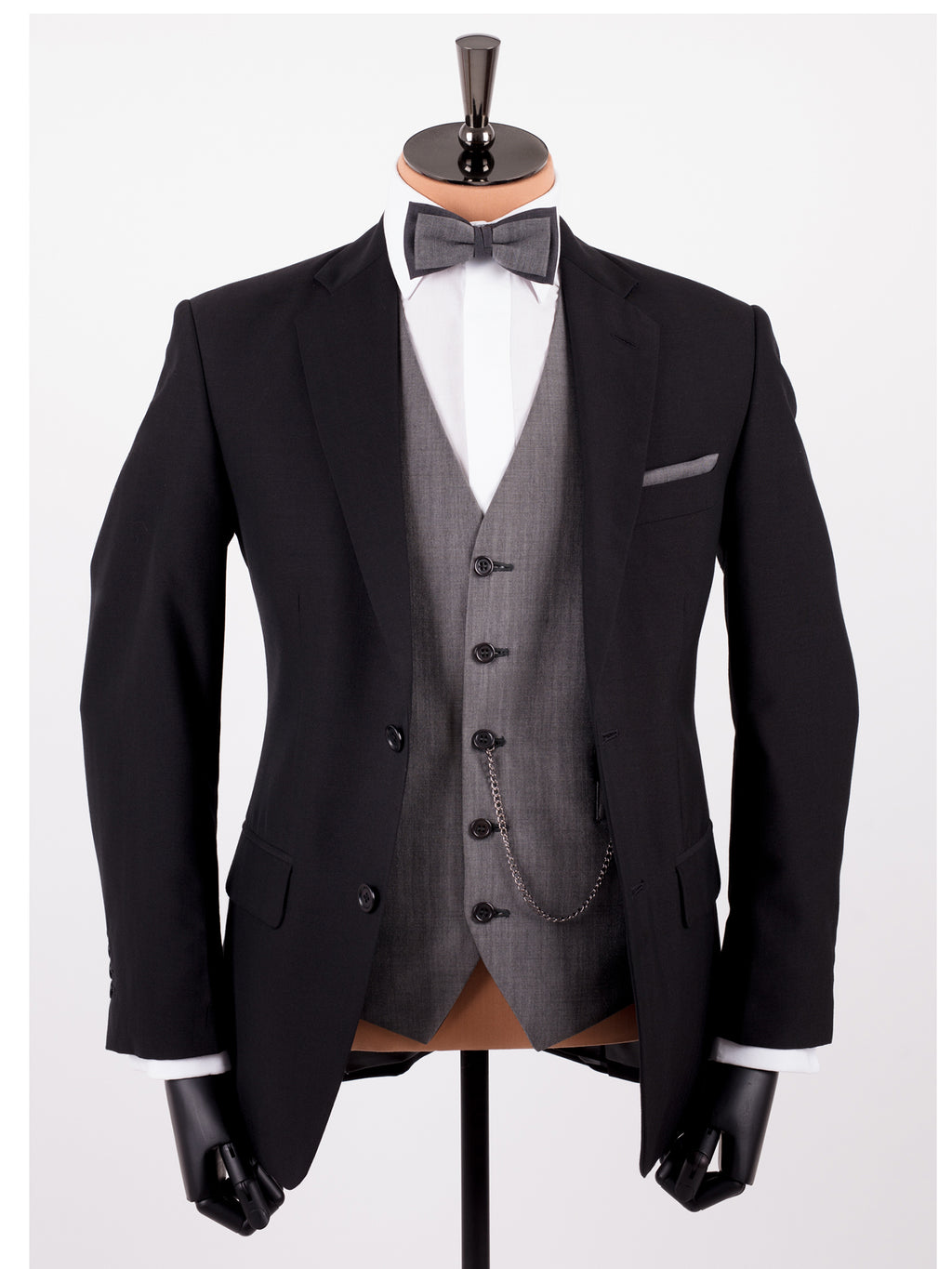 Black Mohair Wedding Suit