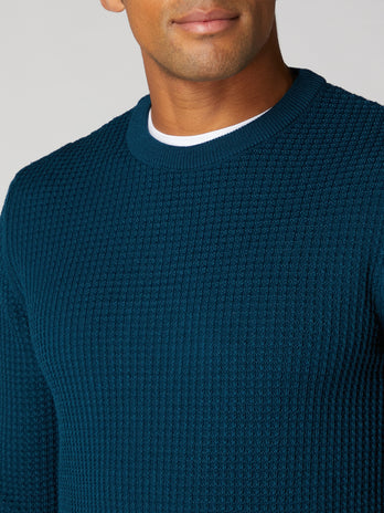 blue-crew-neck-sweatshirt