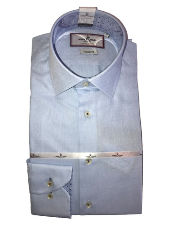 blue fleck herbie frogg shirt