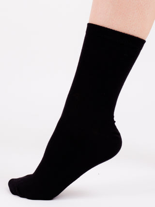 black-school-socks