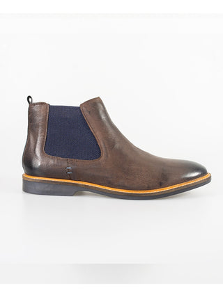 mens brown chelsea boots