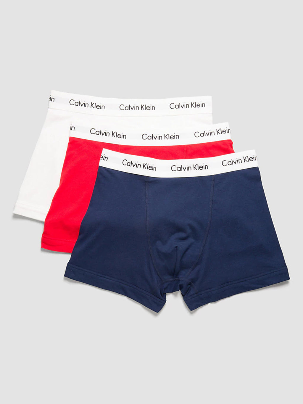 calvin klein boxers 3 pack red white blue