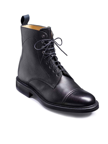 barker donegal black boots
