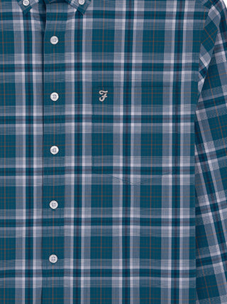 farah shirts blue