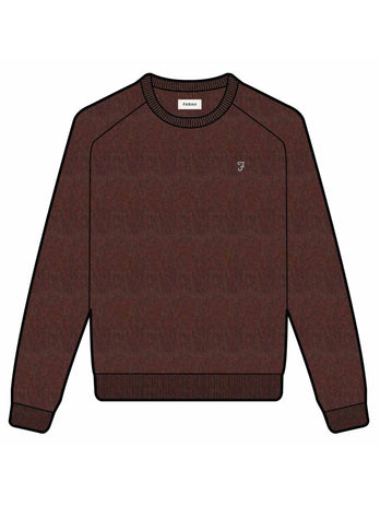 farah jumper red