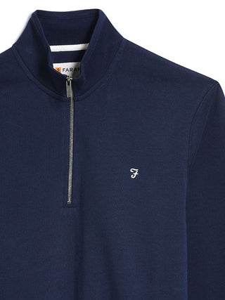 farah-quarter-zip-blue
