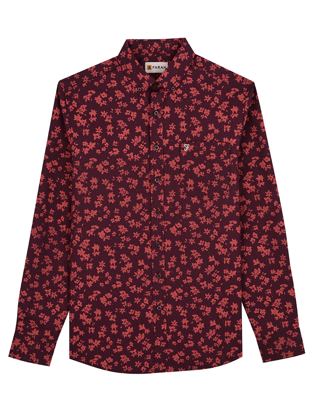 farah shirt red