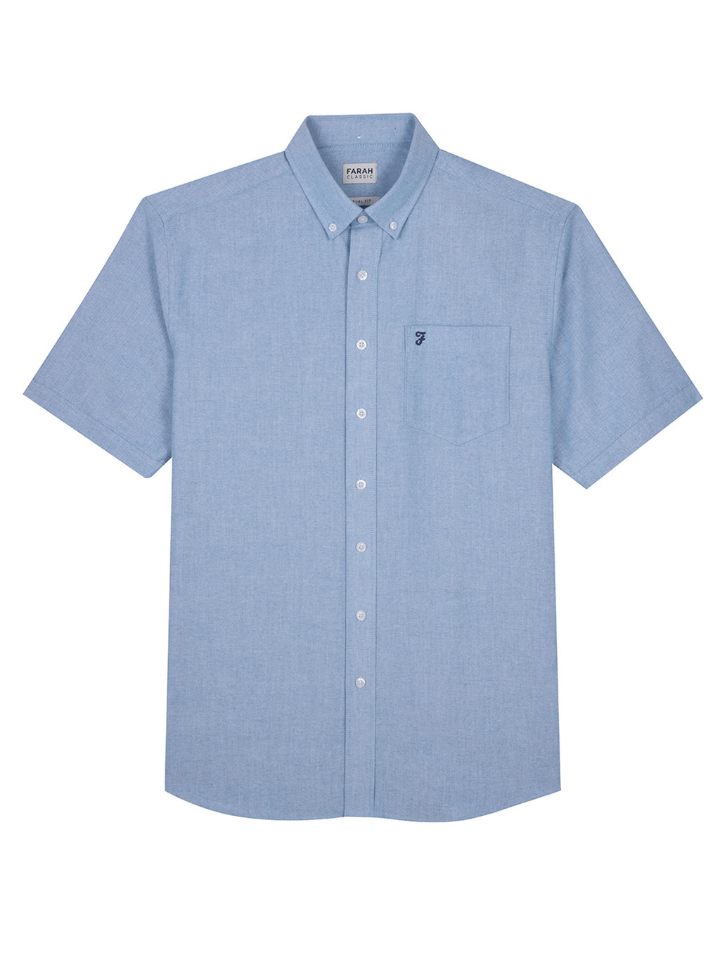 farah shirt blue