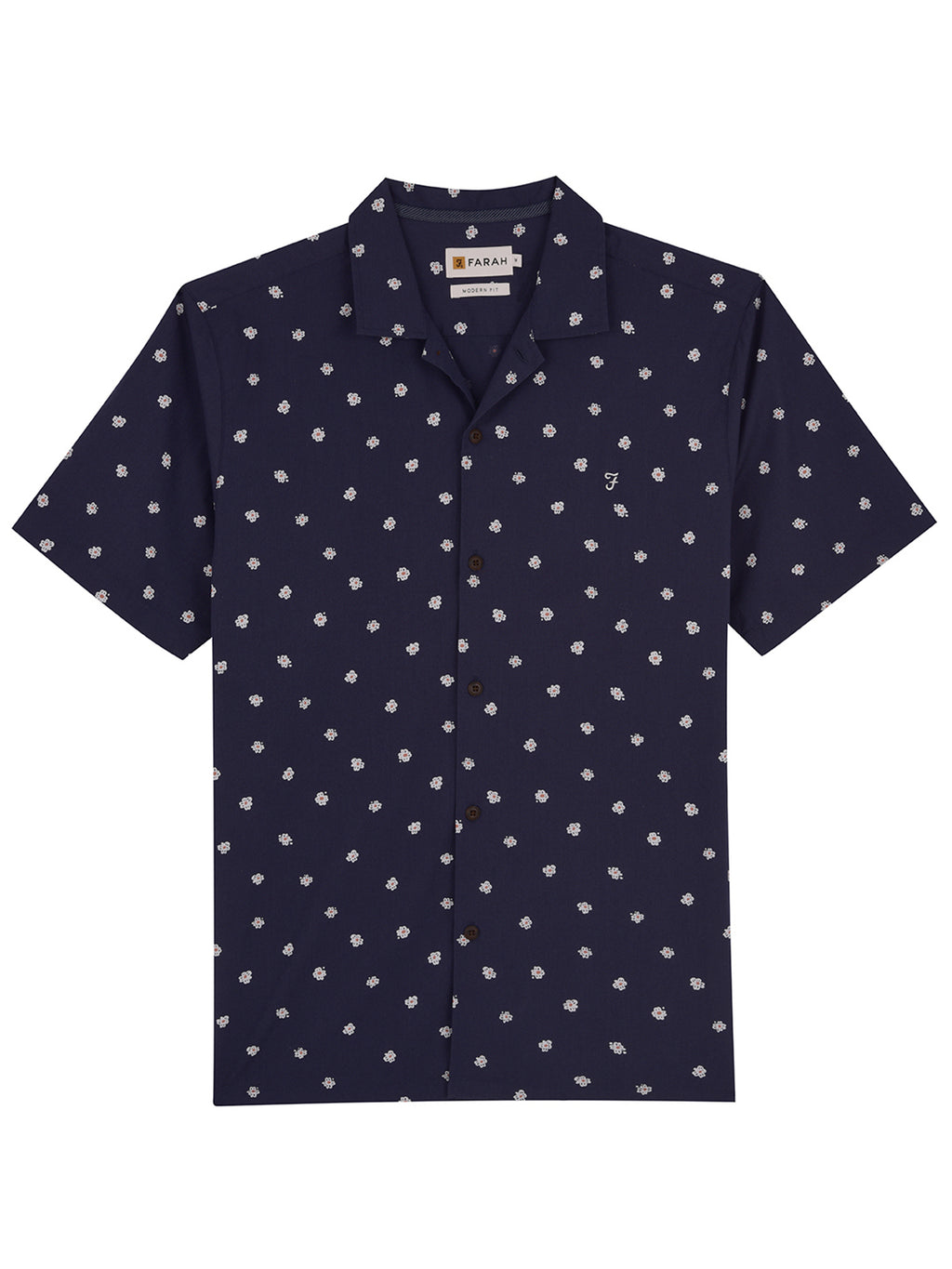 farah shirt navy