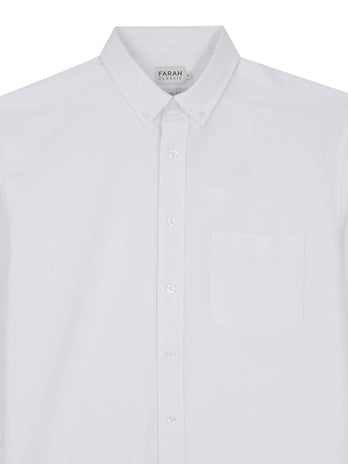 white farah shirt