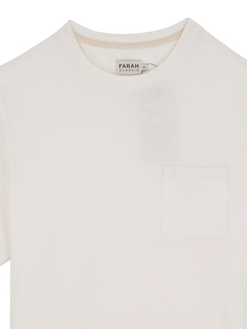Farah - T-Shirt White