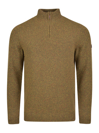 green lambswool jumper