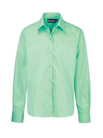 green-school-blouse