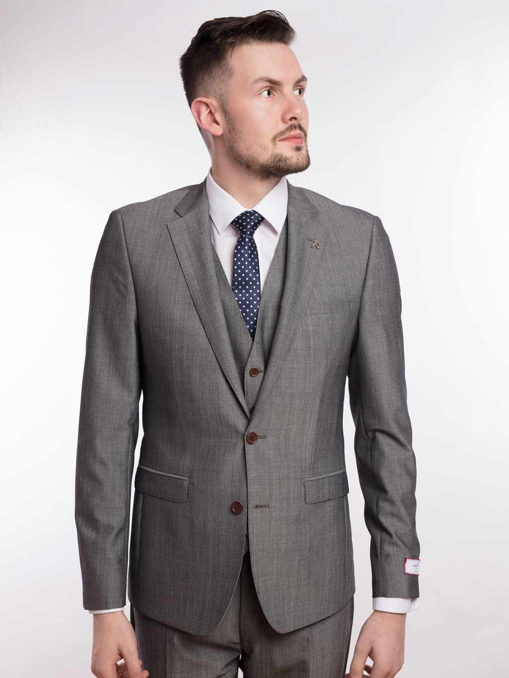 herbie frogg grey suit
