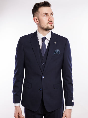 herbie frogg navy suit