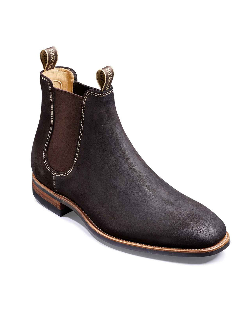 Barker Mansfield Choc Boots