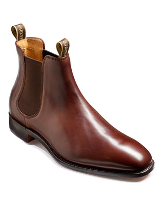 walnut calf mansfield chelsea boot from barker shoes