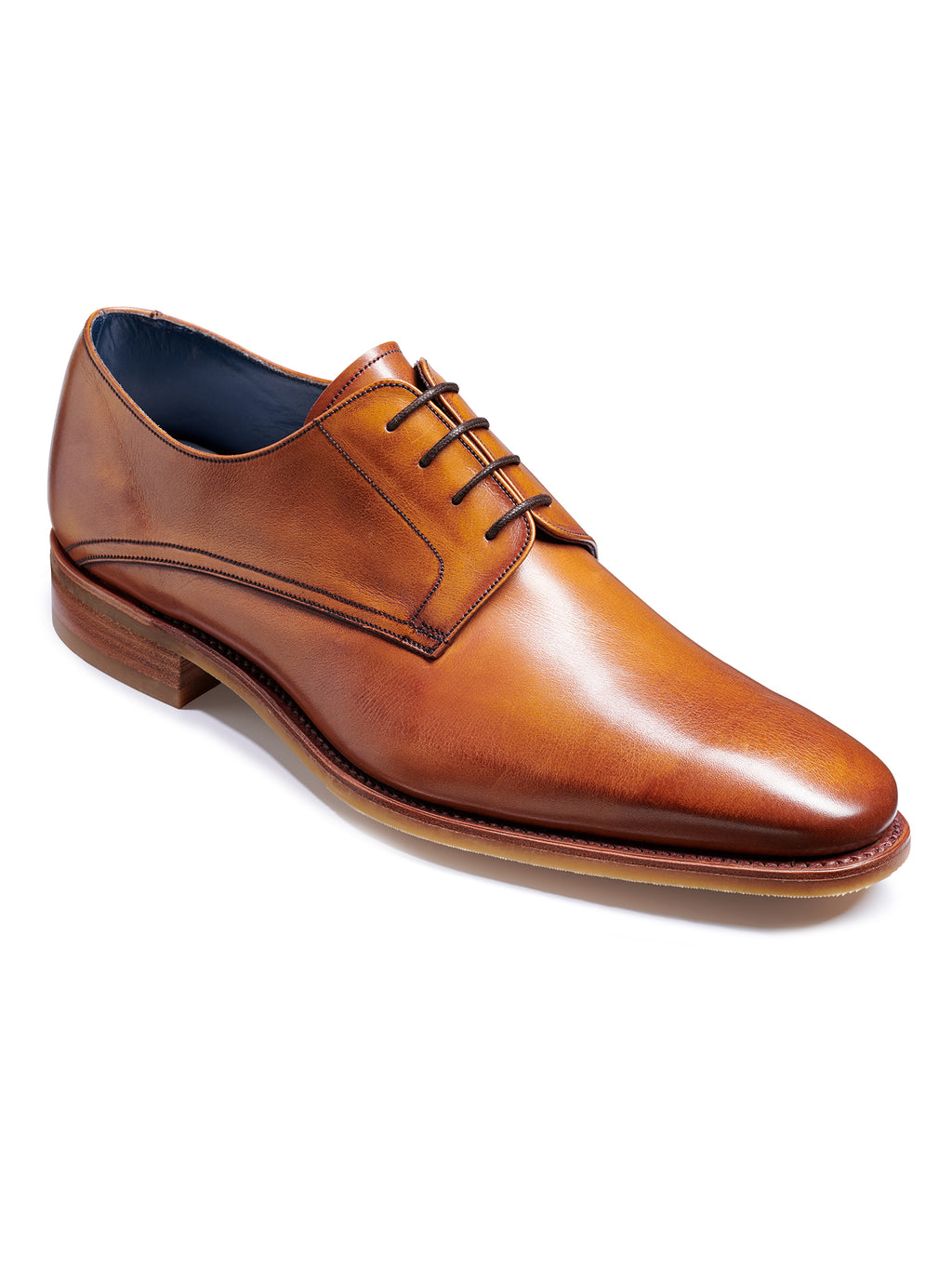 barker shoes max rosewood calf