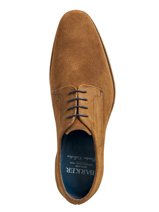 tan suede barker shoes