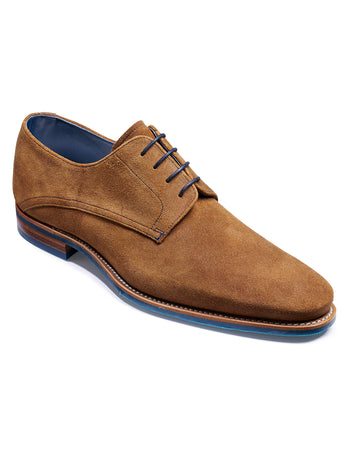 barker shoes max tan suede shoes